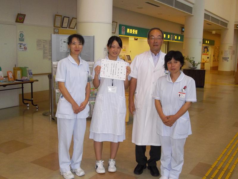 高校生看護師体験