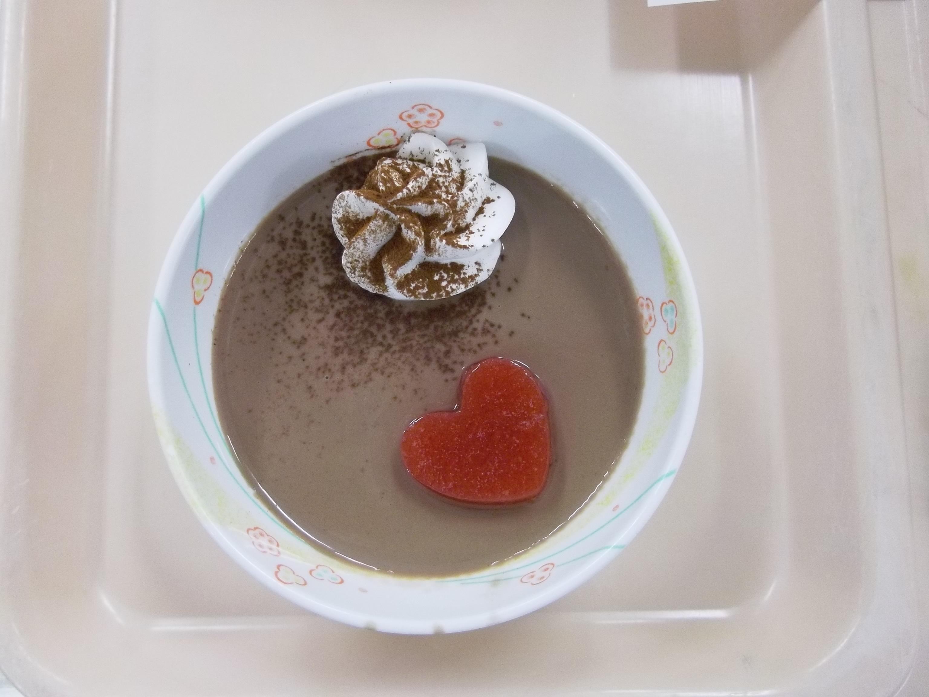 愛情一杯バレンタインデザート