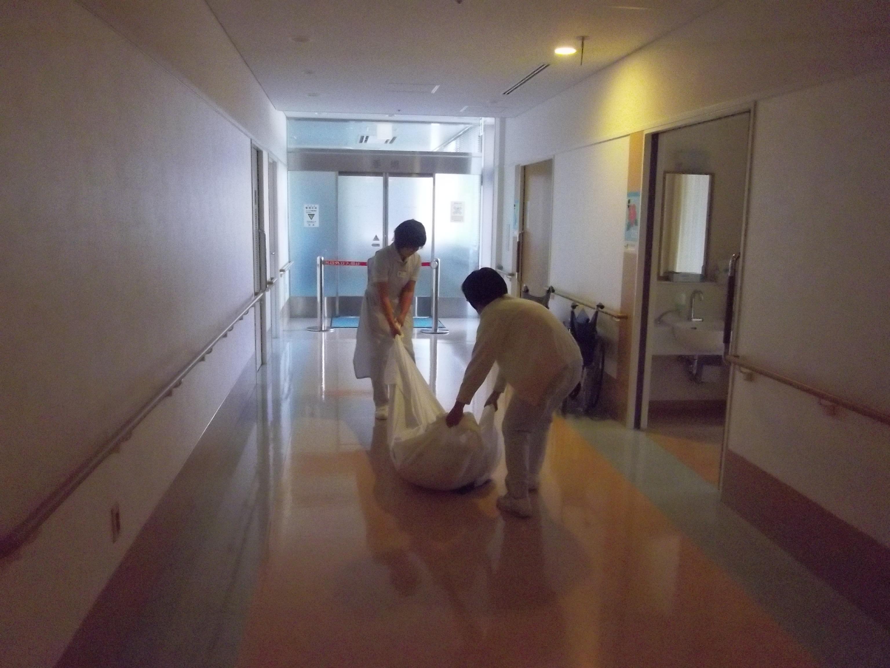 病棟避難訓練1